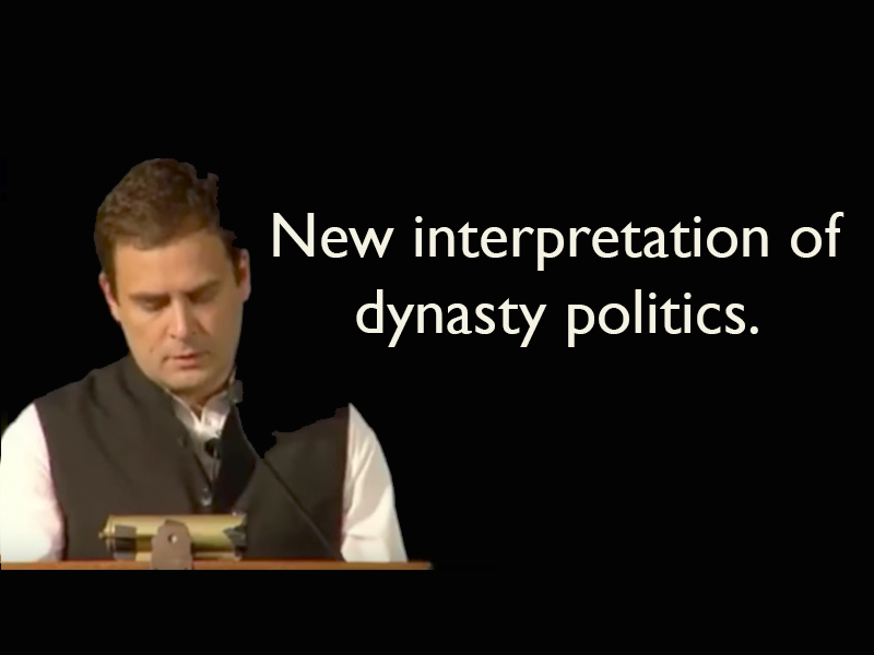 What stood out in Rahul Gandhi's speech in University of California, Berkeley