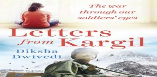 Book cover of Letters from Kargil