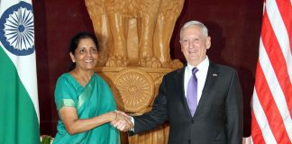 India and US discussed defence cooperation but India has said it won't send troops to Afghanistan