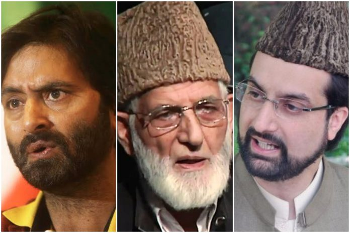 Hurriyat leaders have been raided by the NIA and accused of corruption.