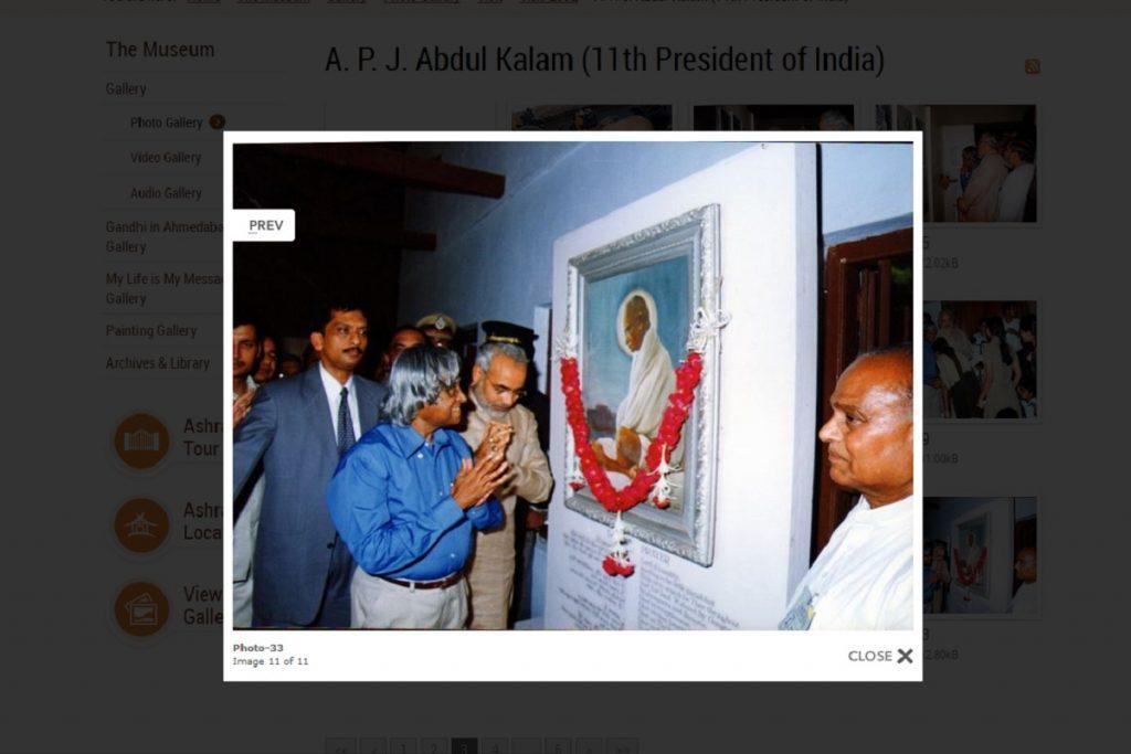 Tushar Gandhi wrongly tweets that Modi never visited Sabarmati Ashram as CM