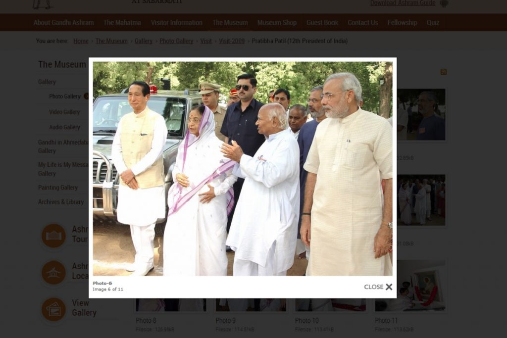 Tushar Gandhi wrongly tweets that Narendra Modi never visited Sabarmati Ashram as CM