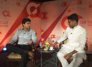 Jyotiraditya Scindia said that it was a matter of days before Rahul Gandhi became Congress president