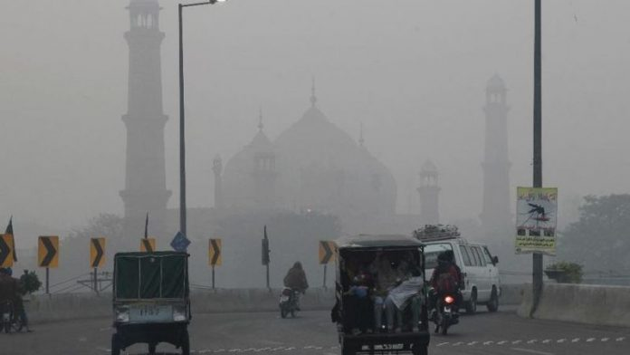 Smog in Lahore