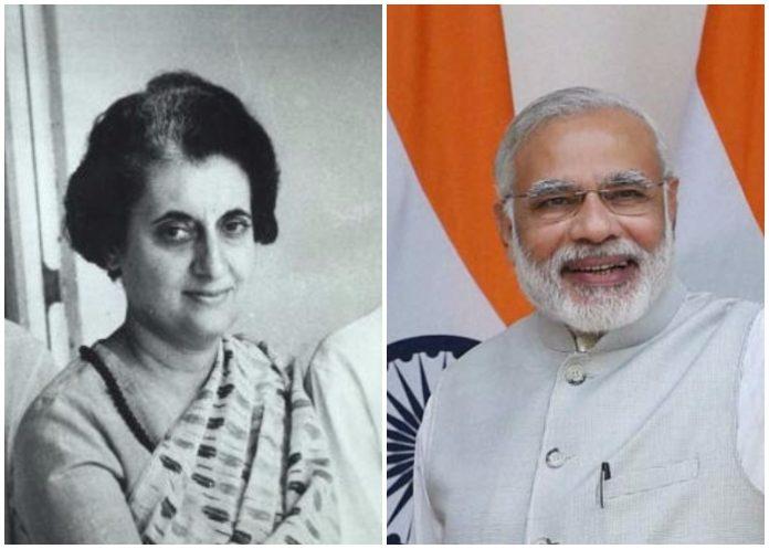 Kovind, Modi pays tribute to Indira Gandhi on birth centenary