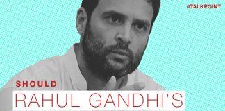 A graphic showing Rahul Gandhi