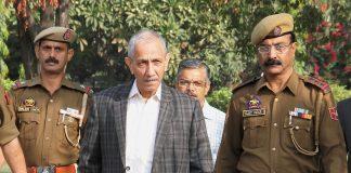 Dineshwar Sharma, interlocutor to Jammu and Kashmir on his way to a meeting