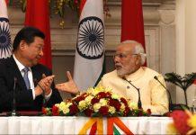 Narendra Modi and Chinese President Xi Jinping