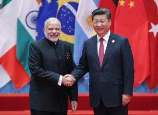 File photo of Xi Jinping and Narendra Modi.