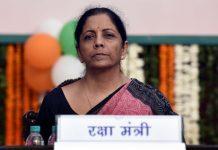 Union Defence Minister Nirmala Sitharaman.
