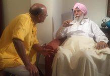 Shekhar Gupta with KPS Gill.