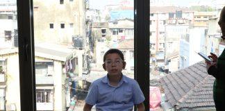 26/11 attack survivor Moshe Holtzberg at the Mumbai Chabad House