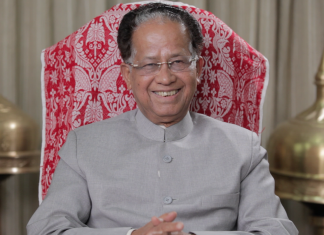 Former chief minister of Assam Tarun Gogoi | Flickr