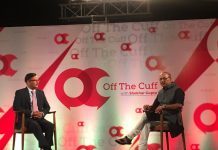 Husain Haqqani at OTC