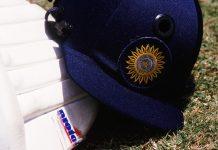 Indian batsmen helmet | Mike Hewitt/Getty Images