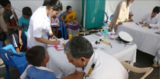 A health camp | Commons