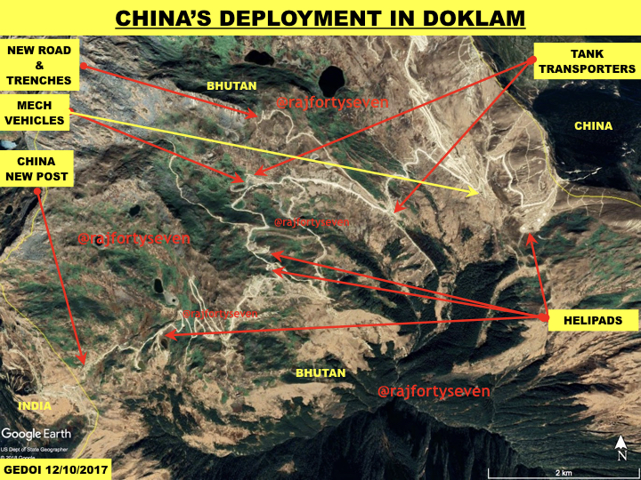 Will Build Doklam Infrastructure, Says Aggressive China After Satellite Pics