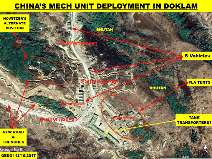 China justifies infrastructure constructing in Doklam