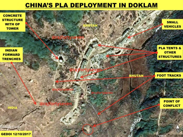 Govt snoozing as China builds in Doklam: Congress