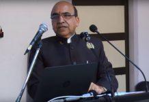 Dr Rajneesh Arora, ex-VC, PTU giving a speech on YouTube