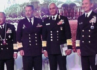 Top Military leaders from the Quad at Raisina dialogue, 2018 | Pushan Das