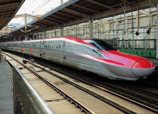 Japan's Shinkansen bullet train