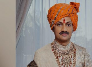 A file photo of Manvendra Gohil