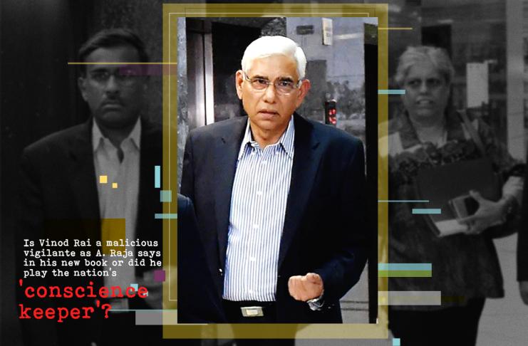 Former CAG Vinod Rai who A Raja has alleged was a vigilante