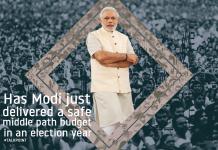 Modi's middle path Budget 2018