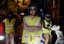 A Delhi Police constable in New Delhi   PTI