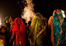 A wedding procession in India. Daniel Berehulak/Getty Images