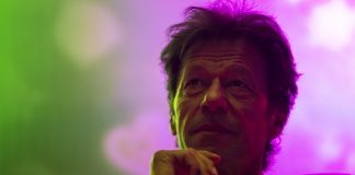 Imran Khan, chairman of the Pakistan Tehrik e Insaf party in Lahore | Daniel Berehulak/Getty Images