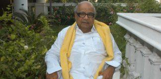 File photo of M. Karunanidhi at his Chennai residence | Hk Rajashekar/The India Today Group/Getty Images
