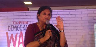 Archana Kapoor at Democracy Wall, Mumbai   Sajid Ali/ThePrint