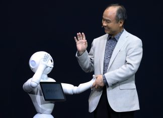Billionaire Masayoshi Son, chairman and chief executive officer of SoftBank Corp.   Tomohiro Ohsumi/Bloomberg