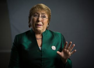 File image of Michelle Bachelet | Flickr