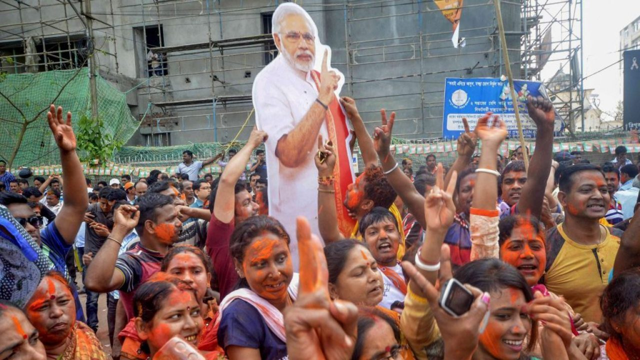 Told through its slogans — BJP's five-year journey in power