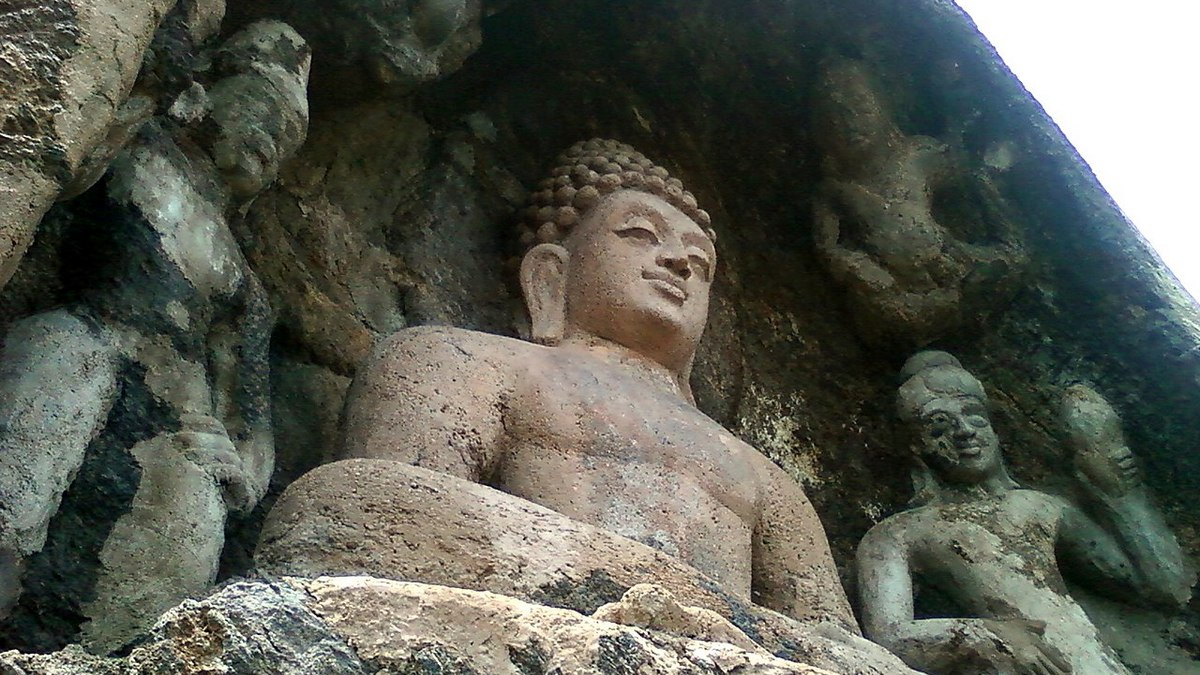 Robots guarded Buddha's relics in an ancient Indian legend