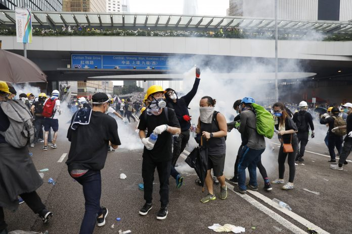 How one of Bruce Lee's philosophies is inspiring the Hong Kong protests