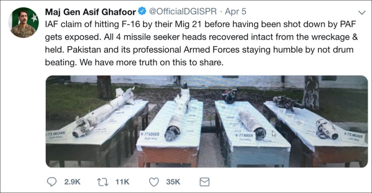 Using Open Source Intelligence (OSINT) to show how IAF's Abhinandan shot down a Pakistani F-16 12