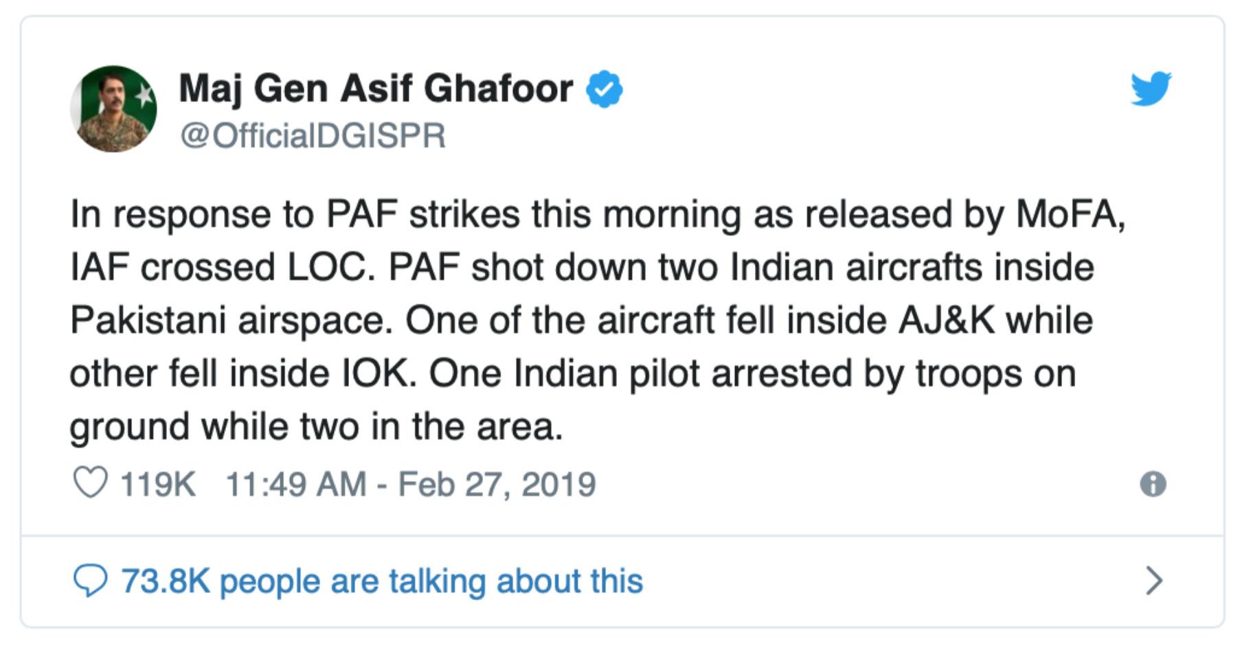 Using Open Source Intelligence (OSINT) to show how IAF's Abhinandan shot down a Pakistani F-16 3