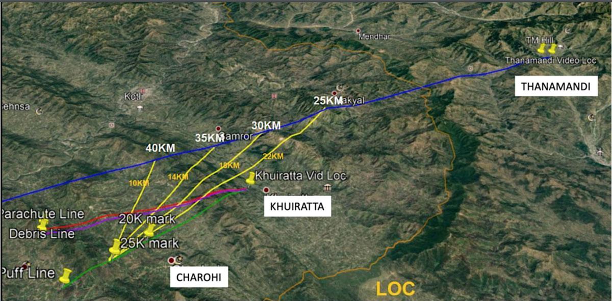 Using Open Source Intelligence (OSINT) to show how IAF's Abhinandan shot down a Pakistani F-16 41