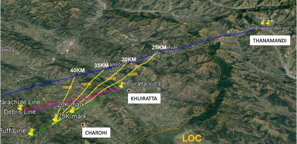 Using Open Source Intelligence (OSINT) to show how IAF's Abhinandan shot down a Pakistani F-16 54