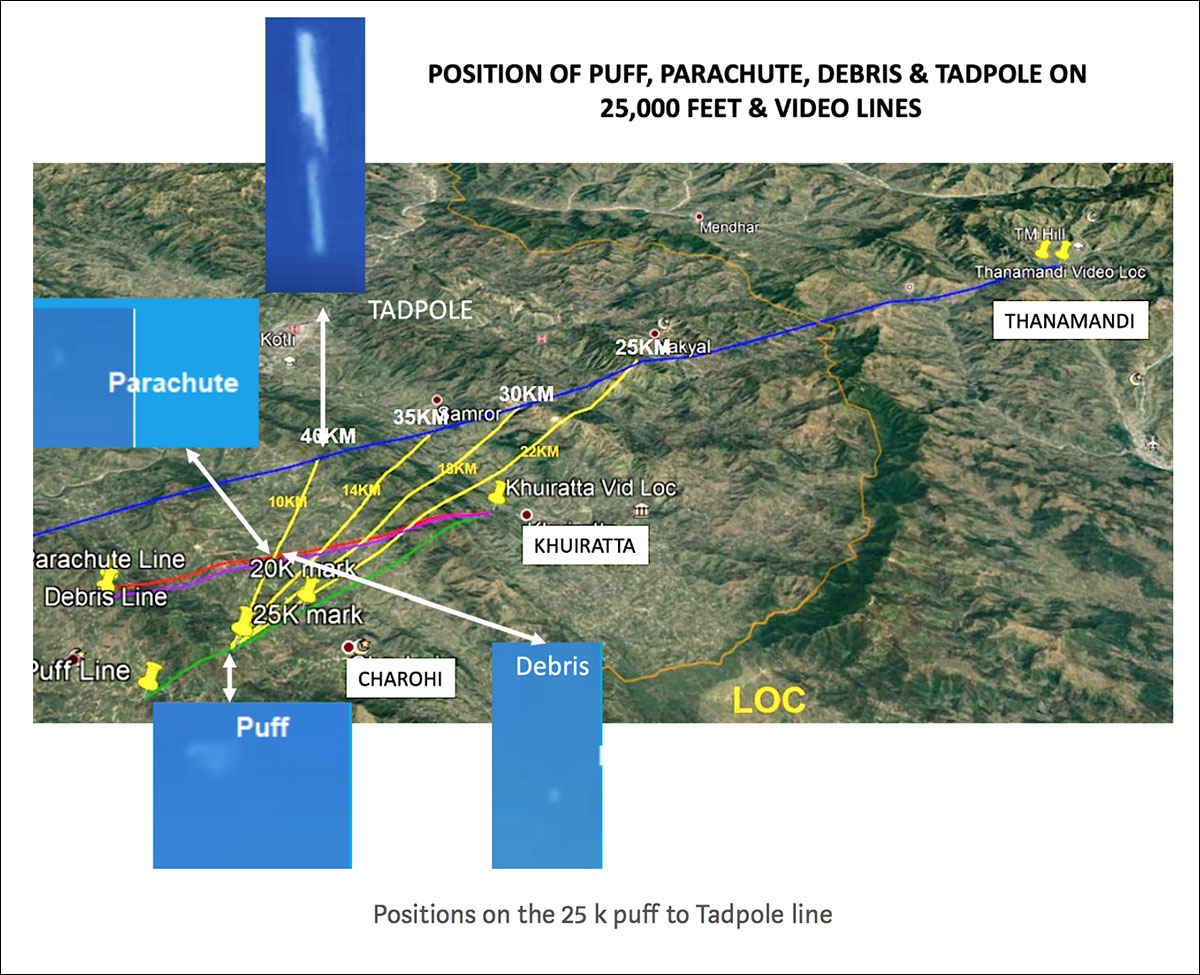 Using Open Source Intelligence (OSINT) to show how IAF's Abhinandan shot down a Pakistani F-16 56
