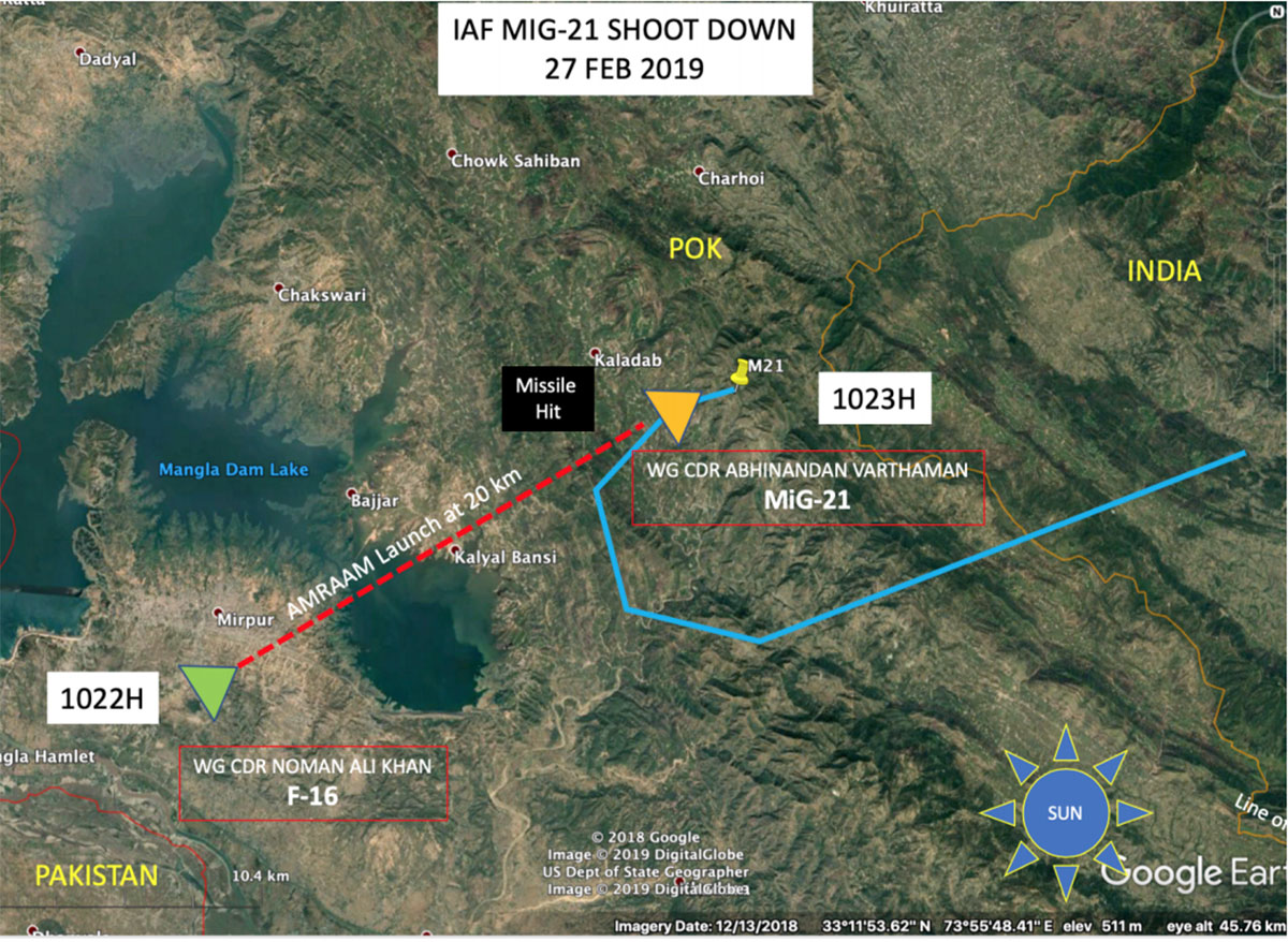 Using Open Source Intelligence (OSINT) to show how IAF's Abhinandan shot down a Pakistani F-16 61