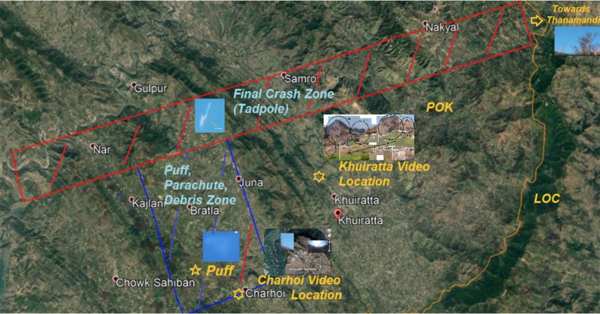 Using Open Source Intelligence (OSINT) to show how IAF's Abhinandan shot down a Pakistani F-16 69