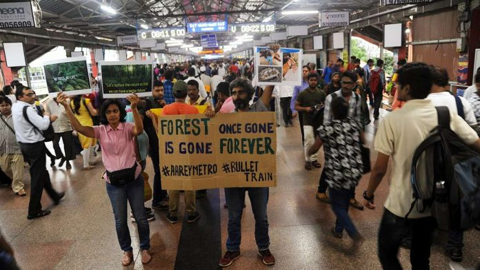 Why Mumbai says Aarey Colony protests aren't only about felling trees for Metro car depot
