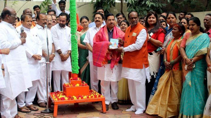 BJP storms govt offices with Tricolour to push demand for 'Hyderabad Liberation Day'