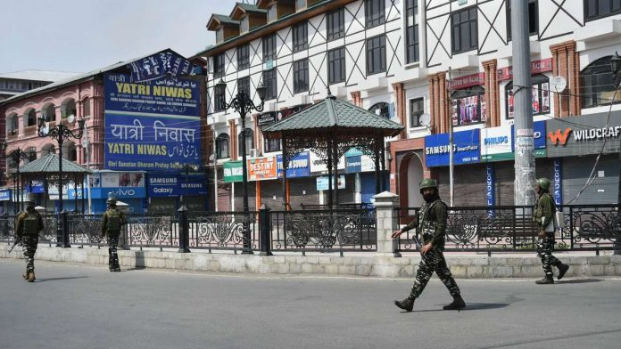 Bunkers back in Srinagar, another reminder of militancy days as security restrictions stay