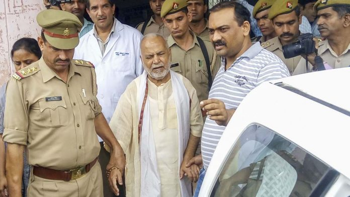 Former Union minister Chinmayanand, accused of rape, arrested